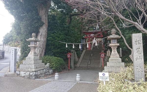 宝塚市の松尾神社