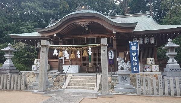 兵庫県宝塚市山本にある松尾神社