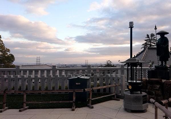 中山寺からの景色
