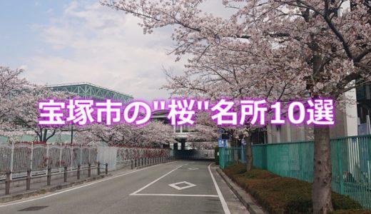 宝塚の桜の名所10選!宝塚市の地元民が教える中山寺など桜の穴場スポット