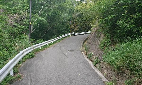 塩尾寺へのルート