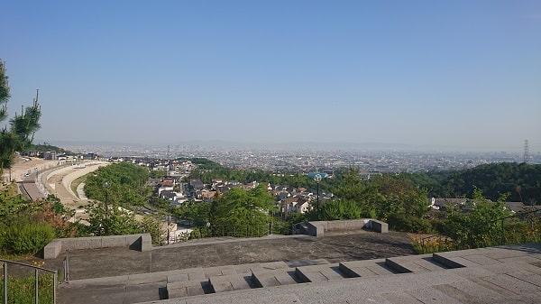山手台北公園の景色