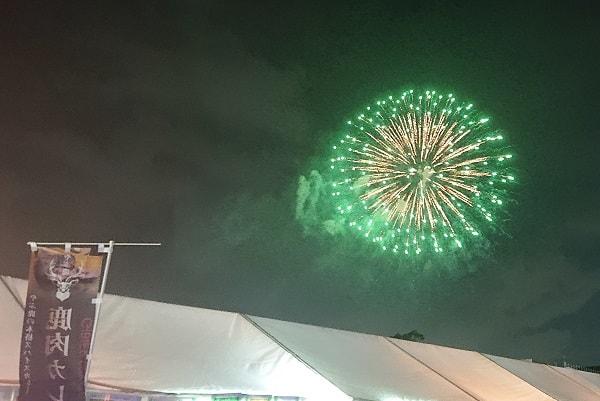 宝塚のサマーフェスタの花火