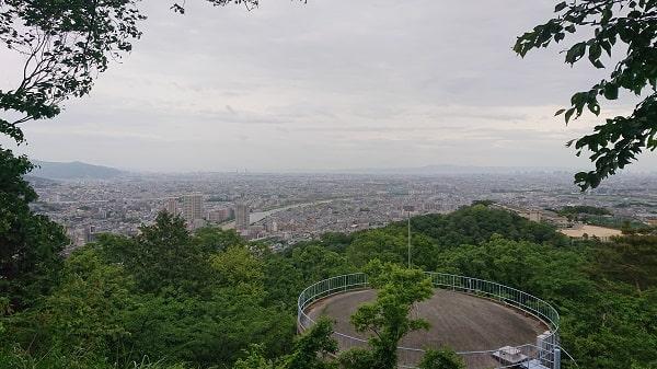 宝塚市を一望