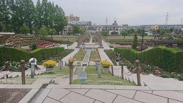 宝塚のバラ公園
