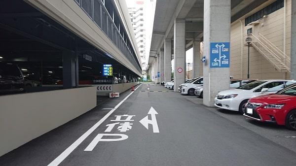 宝塚大劇場の立体駐車場