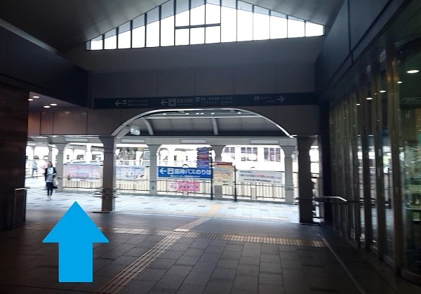 JR宝塚駅と阪急宝塚駅を繋ぐ通路