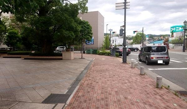 宝塚の交差点